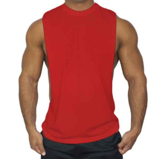 Men's Bodybuilding O Neck Tank