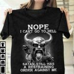 Viking I Can't Go To Hell Men T-Shirt